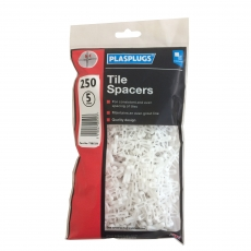5mm Tile Spacers Bagged (qty 250)