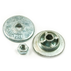 DWW100 Metal Blade Carrier Washer and Nut Set