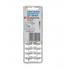 20 Plug-in Shelf Supports