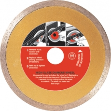 110mm High Glaze Diamond Wheel Cutting Blade