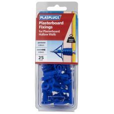 25 x Heavy Duty Plasterboard Fixings