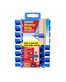 30 x Heavy Duty Plasterboard Fixings Clip Pack