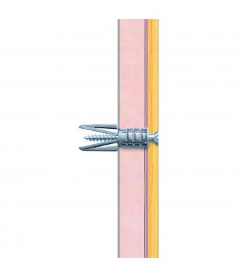 20 x Regular Duty Plasterboard Fixings & Screws