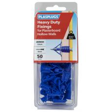 50 x Heavy Duty Plasterboard Fixings