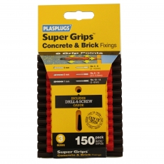 150 x Assorted Supergrips Clip Pack