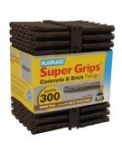 300 x Heavy Duty Brown Supergrips Trade Pack