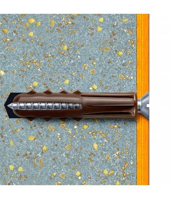 50 x Original Heavy Duty Concrete & Brick Fixings Clip Pack