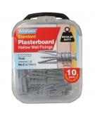 10 x Originals Plasterboard Fixings