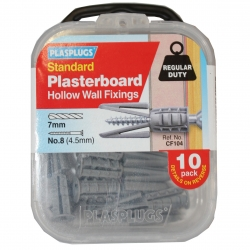 10 x Originals Plasterboard Fixings