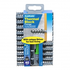 40 x Thermal Block Fixings