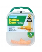 5 x Hollow Door Regular Duty Fixings