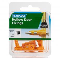 10 x Hollow Door Regular Duty Fixings