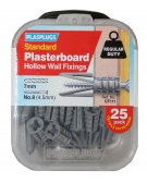 25 x Originals Plasterboard Fixings