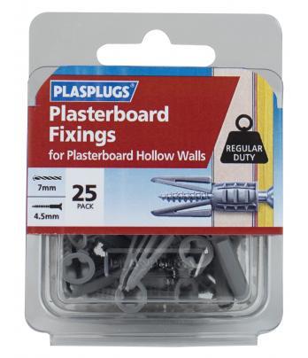 25 x Originals Plasterboard Fixings