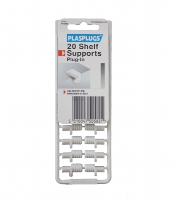 20 Plug-in Shelf Supports