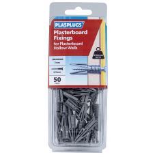 50 x Originals Plasterboard Fixings