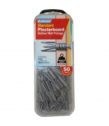 50 x Originals Plasterboard Fixings