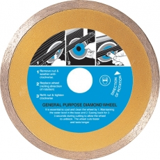 110mm General Purpose Diamond Wheel Cutting Blade